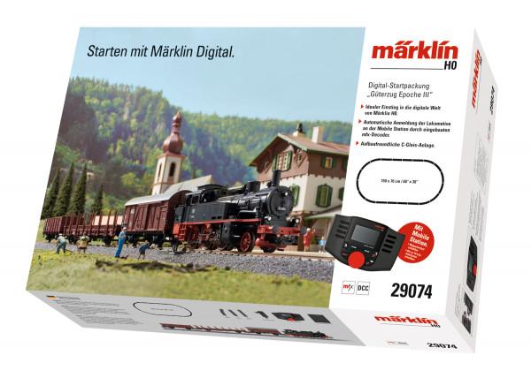 MÄRKLIN Digital Starterset Güterzug Epoche III