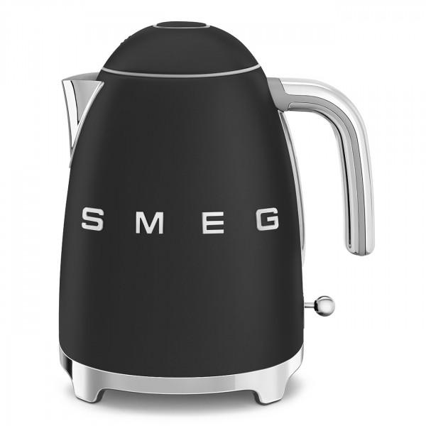 SMEG Wasserkocher Schwarz Matt