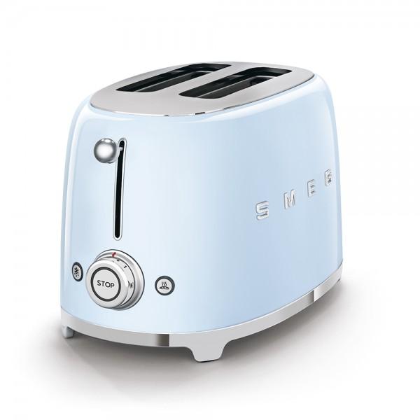 SMEG Toaster KOMPAKT Pastellblau