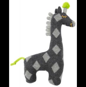 Die Spiegelburg - Kuscheltier Giraffe, grau