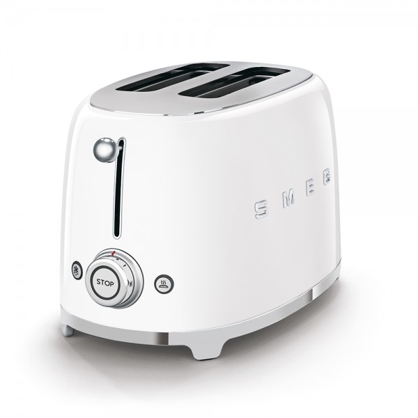 SMEG Toaster KOMPAKT Weiß