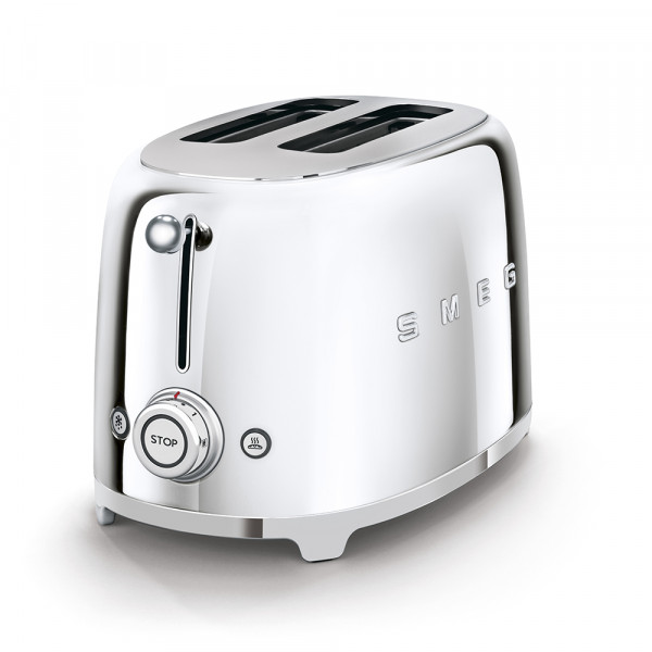 SMEG Toaster KOMPAKT Chrom