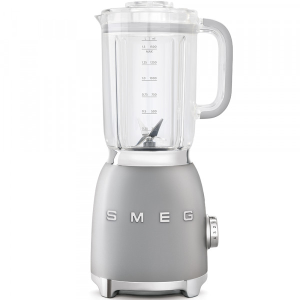 SMEG Mixer Silbergrau
