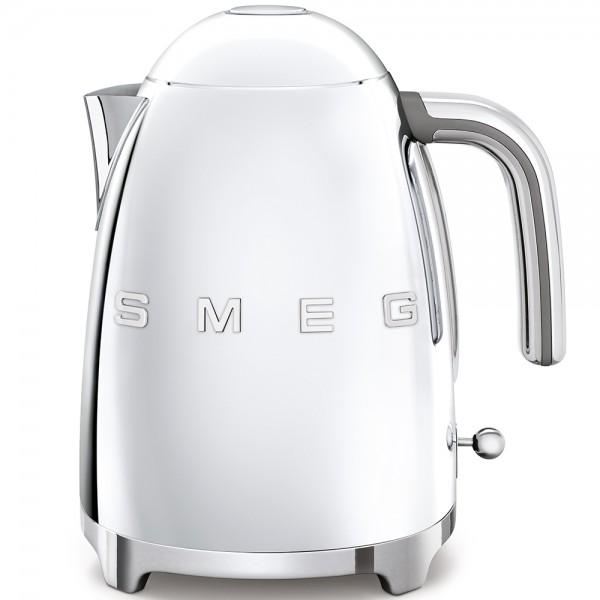 SMEG Wasserkocher, Edelstahl Hochglanz poliert