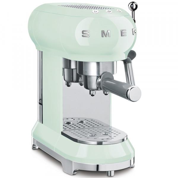 SMEG Espressomaschine Pastellgrün