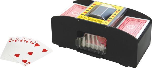 VEDES Kartenmischmaschine batteriebetrieben