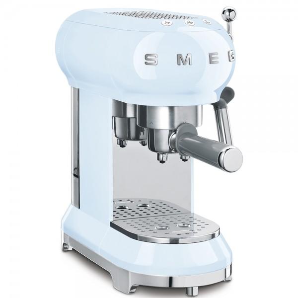 SMEG Espressomaschine Pastellblau