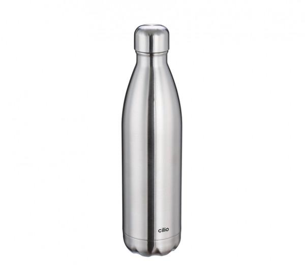 CILIO Isolierflasche ELEGANTE Edelstahl