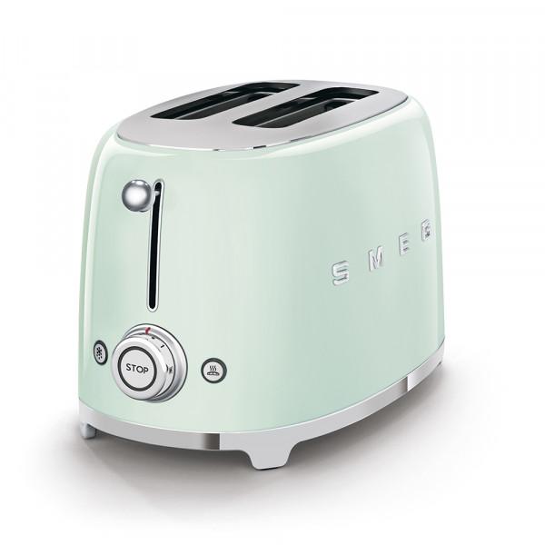 SMEG Toaster KOMPAKT Pastellgrün