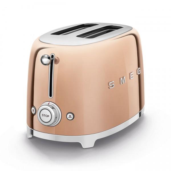SMEG Toaster Rose Gold2