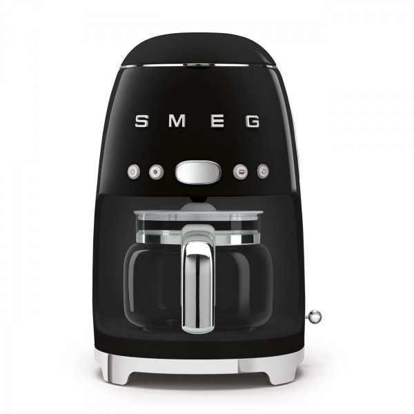SMEG Kaffeemaschine Schwarz