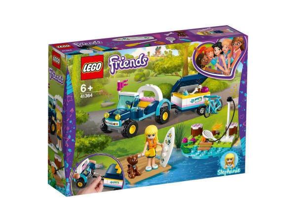 LEGO Friends 41364 Stephanies Cabrio mit Anhänger