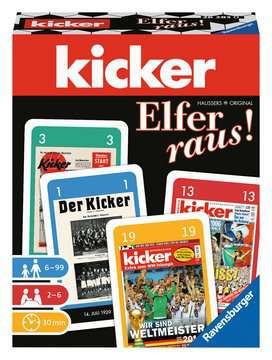 RAVENSBURGER kicker Elfer raus! Kartenspiel