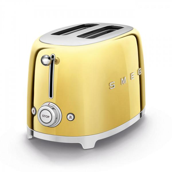 SMEG Toaster KOMPAKT Gold