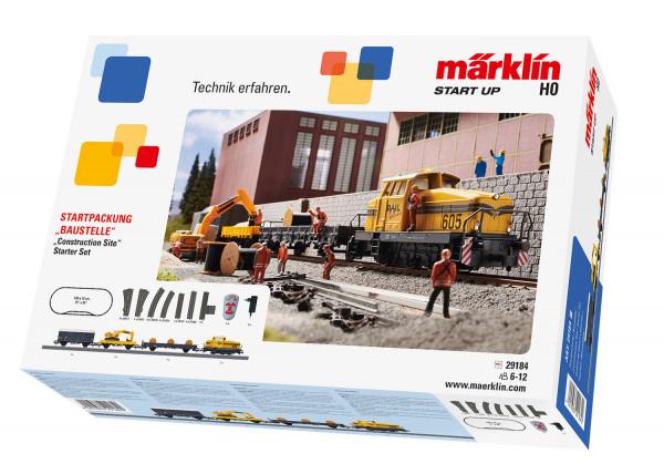 """MÄRKLIN Startpackung """"Baustelle"""""""