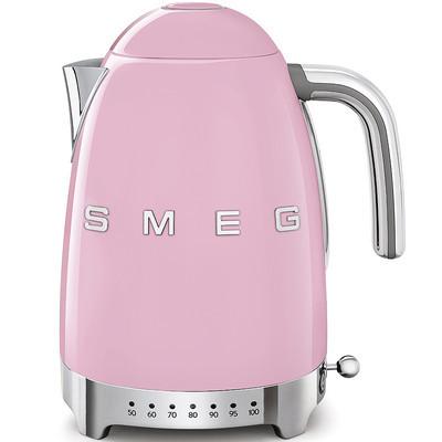 SMEG Wasserkocher mit Temperatureinstellung, Rosa