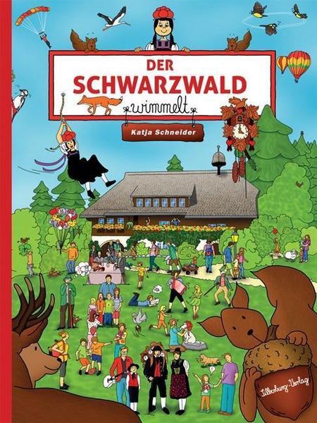 Wimmelbuch DER SCHWARZWALD wimmelt