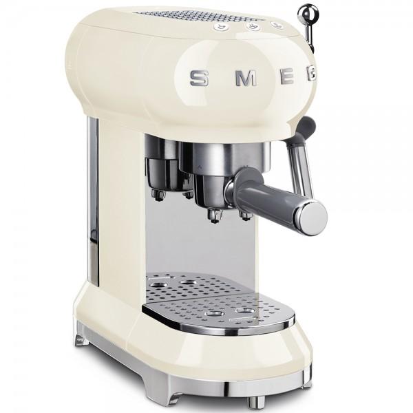 SMEG Espresso-Kaffeemaschine Creme