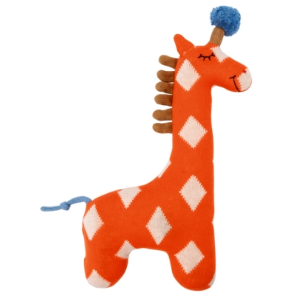 Die Spiegelburg - Kuscheltier Giraffe, orange