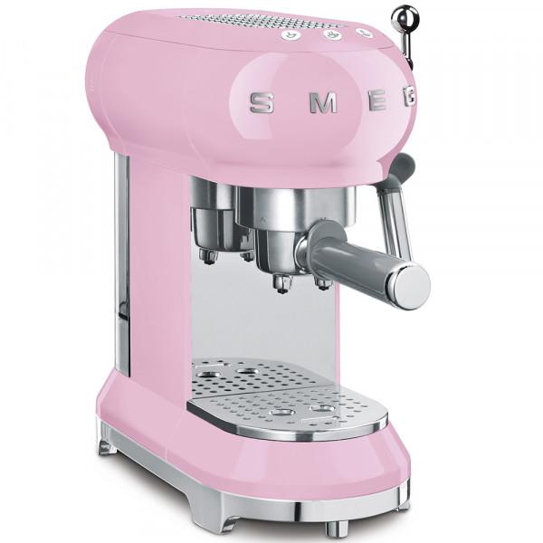 SMEG Espressomaschine Rosa